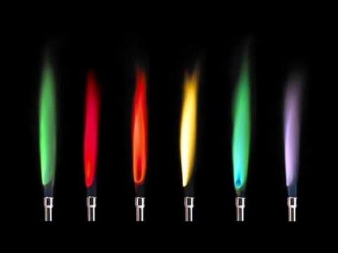Flame emission spectroscopy